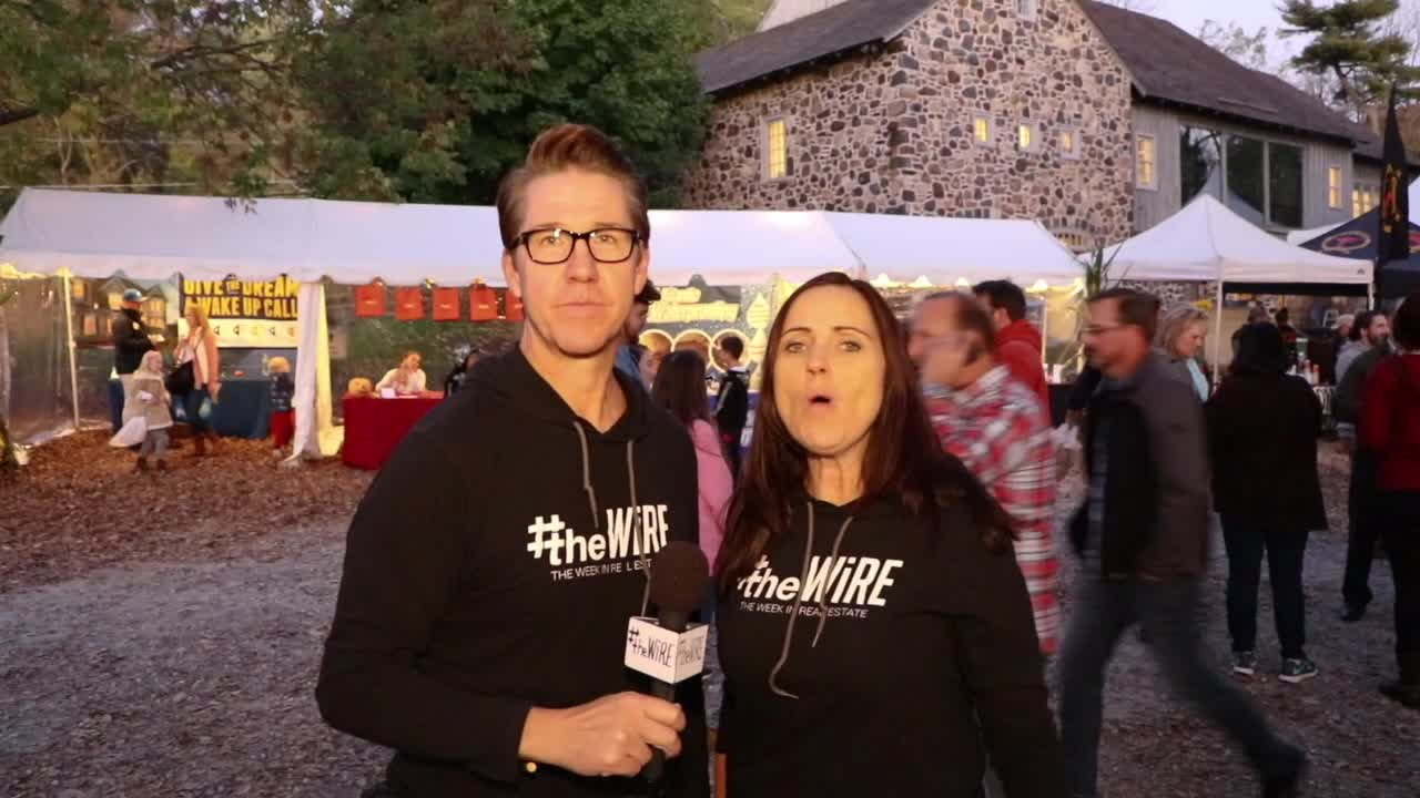 #theWiRE S3 | E18 Doug and Jill are OUT & ABOUT at The Great Pumpkin Carve 2017 Chadds Ford, PA